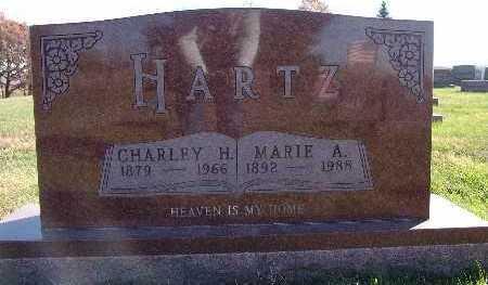 HARTZ, MARIE A. - Marion County, Iowa | MARIE A. HARTZ