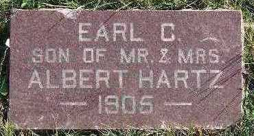 HARTZ, EARL C. - Marion County, Iowa | EARL C. HARTZ
