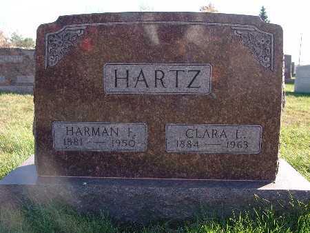 HARTZ, CLARA L. - Marion County, Iowa | CLARA L. HARTZ