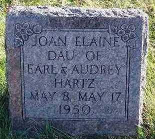 SCHROEDER HARTZ, JOAN ELAINE - Marion County, Iowa | JOAN ELAINE SCHROEDER HARTZ