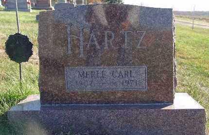 HARTZ, MERLE CARL - Marion County, Iowa | MERLE CARL HARTZ