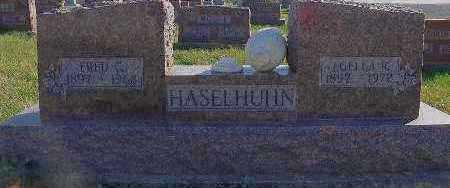FEIGHT HASELHUHN, LUELLA R. - Marion County, Iowa | LUELLA R. FEIGHT HASELHUHN