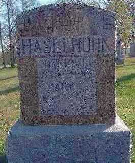 HASELHUHN, HENRY F. - Marion County, Iowa | HENRY F. HASELHUHN