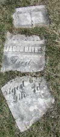 HAYNES, JACOB - Marion County, Iowa   JACOB HAYNES
