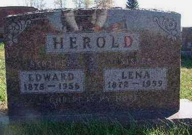 HEROLD, LENA - Marion County, Iowa | LENA HEROLD