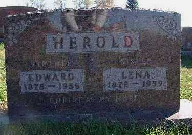 HEROLD, EDWARD - Marion County, Iowa | EDWARD HEROLD
