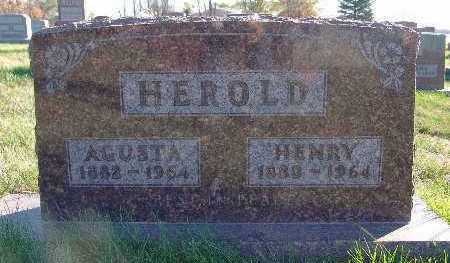 HEROLD, AGUSTA - Marion County, Iowa | AGUSTA HEROLD