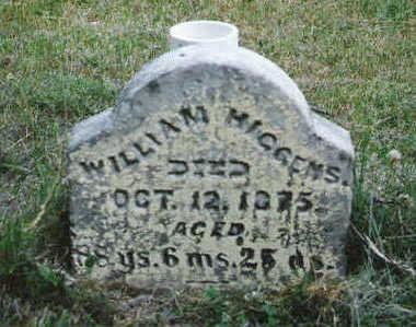 HIGGINS, WILLIAM - Marion County, Iowa   WILLIAM HIGGINS
