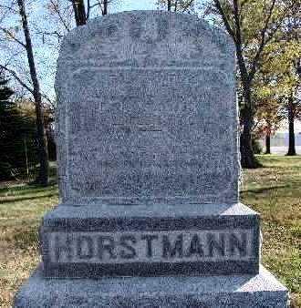 HORSTMANN, CAROLINE - Marion County, Iowa | CAROLINE HORSTMANN