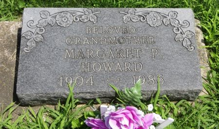 HOWARD, MARGARET P. - Marion County, Iowa | MARGARET P. HOWARD
