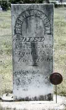 JEREMIAH, JR., GULLION - Marion County, Iowa   GULLION JEREMIAH, JR.