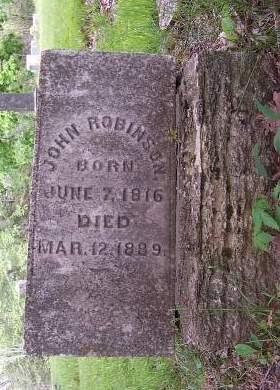 ROBINSON, JOHN - Marion County, Iowa | JOHN ROBINSON