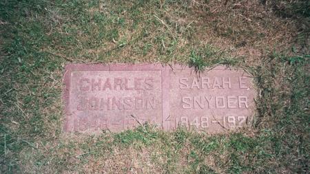 JOHNSON, CHARLES - Marion County, Iowa | CHARLES JOHNSON