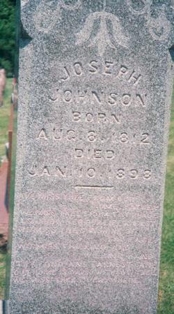 JOHNSON, JOSEPH - Marion County, Iowa | JOSEPH JOHNSON