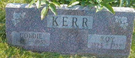 KERR, GOLDIE - Marion County, Iowa | GOLDIE KERR
