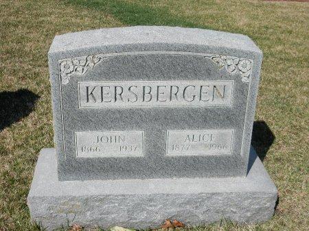KERSBERGEN, ALICE - Marion County, Iowa | ALICE KERSBERGEN