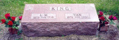 LEE KING, LILLIE MAY - Marion County, Iowa | LILLIE MAY LEE KING