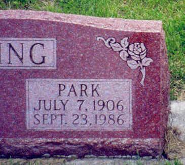 KING, PARK OWEN - Marion County, Iowa | PARK OWEN KING
