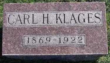 KLAGES, CARL H. - Marion County, Iowa | CARL H. KLAGES