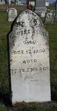 KLINE, GEORGE - Marion County, Iowa | GEORGE KLINE