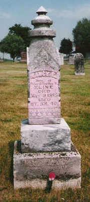 KLINE, NANCY - Marion County, Iowa   NANCY KLINE