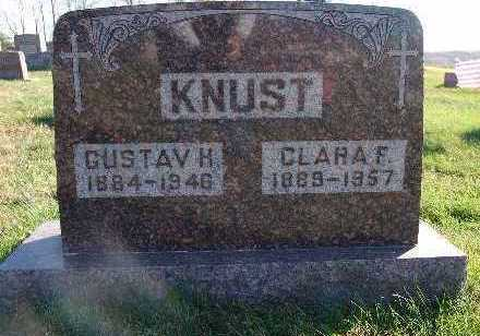 KNUST, GUSTAV H. - Marion County, Iowa | GUSTAV H. KNUST