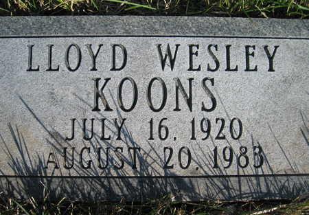 KOONS, LLOYD - Marion County, Iowa | LLOYD KOONS