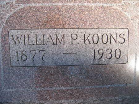 KOONS, WILLIAM P - Marion County, Iowa | WILLIAM P KOONS