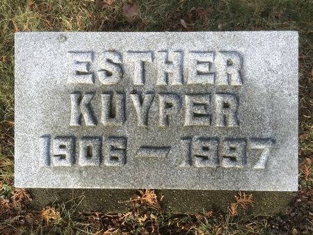 KUYPER, ESTHER - Marion County, Iowa | ESTHER KUYPER