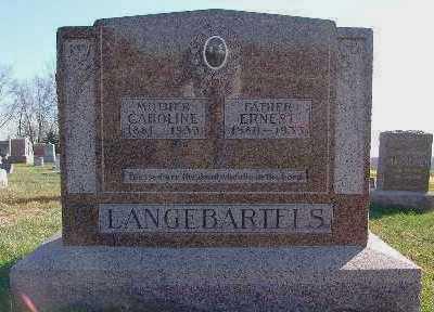 LANGEBARTELS, ERNEST - Marion County, Iowa | ERNEST LANGEBARTELS