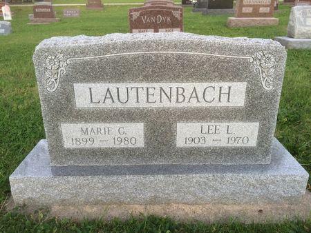LAUTENBACH, MARIE G. - Marion County, Iowa | MARIE G. LAUTENBACH