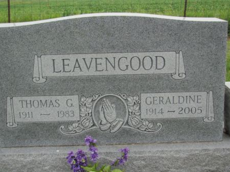 LEAVENGOOD, THOMAS  G. - Marion County, Iowa   THOMAS  G. LEAVENGOOD
