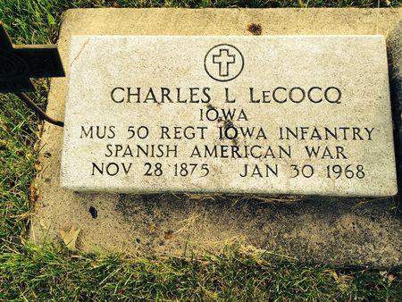 LECOCQ, CHARLES L. - Marion County, Iowa | CHARLES L. LECOCQ