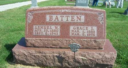 BATTEN, GRACE  I - Marion County, Iowa | GRACE  I BATTEN