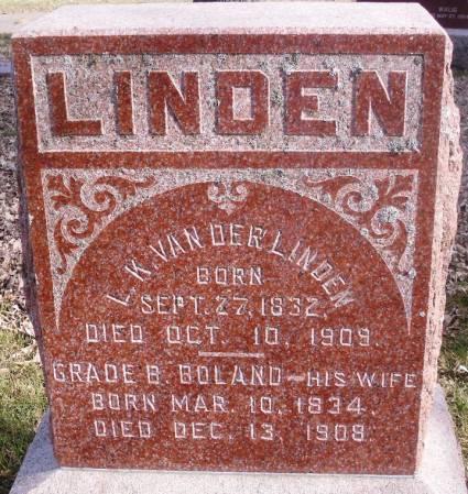 VAN DER LINDEN, GRADE B. - Marion County, Iowa | GRADE B. VAN DER LINDEN