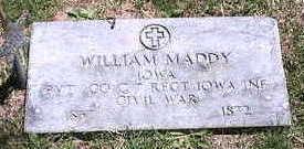 MADDY, WILLIAM - Marion County, Iowa | WILLIAM MADDY