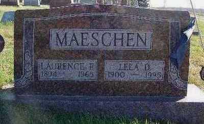 BORCHERT MAESCHEN, LELA D. - Marion County, Iowa | LELA D. BORCHERT MAESCHEN