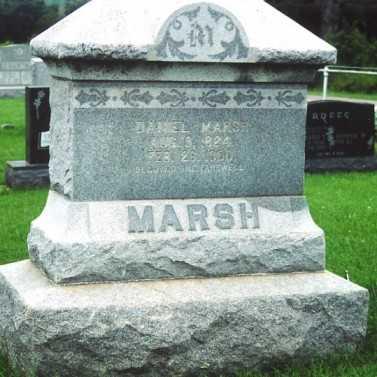 MARSH, DANIEL - Marion County, Iowa | DANIEL MARSH