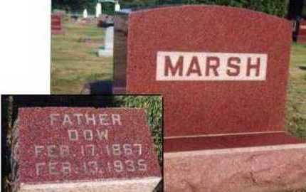MARSH, DOW D. - Marion County, Iowa   DOW D. MARSH