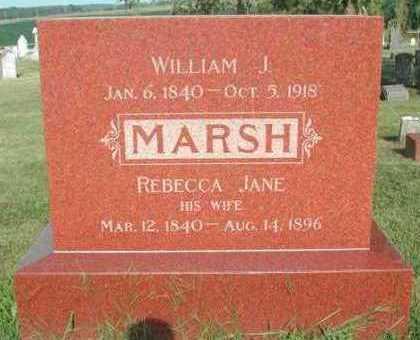 ALLISON MARSH, REBECCA JANE - Marion County, Iowa   REBECCA JANE ALLISON MARSH
