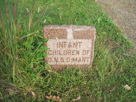 MART, INFANT CHILDREN - Marion County, Iowa   INFANT CHILDREN MART
