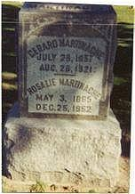 MARTINACHE, GERARD & ROSALIE - Marion County, Iowa | GERARD & ROSALIE MARTINACHE