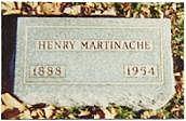 MARTINACHE, HENRY - Marion County, Iowa | HENRY MARTINACHE