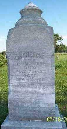 MCDANIEL, CATHERINE - Marion County, Iowa | CATHERINE MCDANIEL