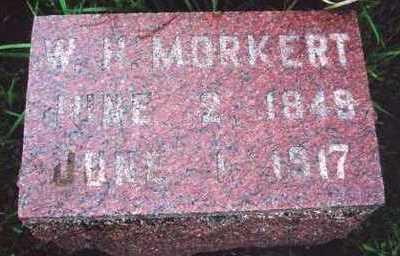 MORKERT, WILLIAM H. - Marion County, Iowa | WILLIAM H. MORKERT