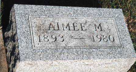 MORROW, AIMEE M. - Marion County, Iowa | AIMEE M. MORROW