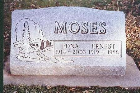 MOSES, EDNA - Marion County, Iowa | EDNA MOSES