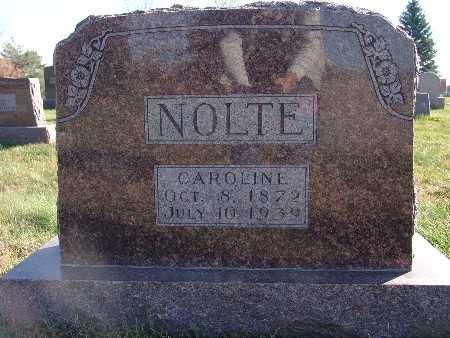 NOLTE, CAROLINE - Marion County, Iowa | CAROLINE NOLTE
