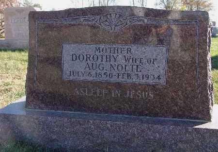 NOLTE, DOROTHY - Marion County, Iowa | DOROTHY NOLTE