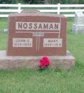 MARY, NOSSAMAN - Marion County, Iowa | NOSSAMAN MARY